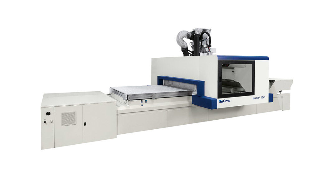 tracer 100 - CMS - 3 & 5 Axis Routers