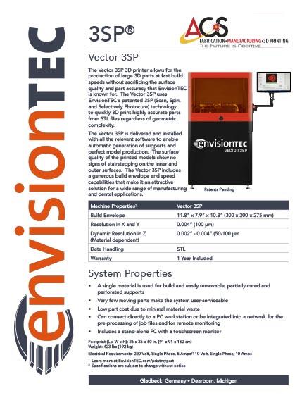 Vector 3SP SLA - Resources