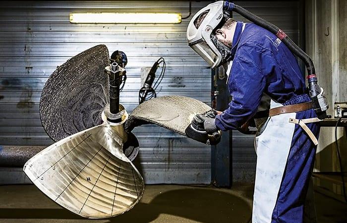 3D printed marine propeller1 - Marine
