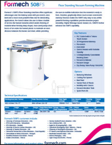 Formech 508FS brochure 231x300 - Resources