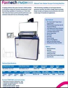 Formech FMDH660 brochure 231x300 - Resources