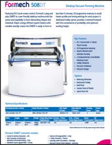 formech 508dt brochure 231x300 - Resources